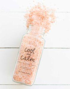 Fair Trade, Hand-blended Peppermint Soaking Salt