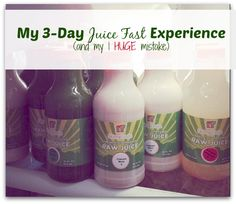 My 3 Day Juice cleanse Experience - Pros & Cons - and My 1 HUGE Mistake