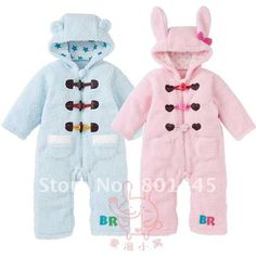 2011 Autumn Winter sheel coralon fleece + lining cotton romper baby romper 1~4Y Free Shipping wholesale retail on AliExpress.com. $22.21