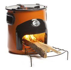COOX - Stove Hout Kooktoestel Oranje | Buiten Koken | TrendYard