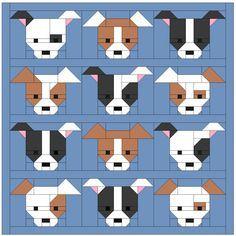 Dog Gone Cute tutorial - Blocks 7 & 8   Sew Fresh Quilt