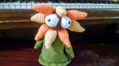 Tanya the Sunflower Monster by GoblinGurley on Etsy