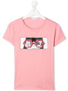 Update your weekend wear with this pink modal-cotton blend TEEN graphic print T-shirt from LITTLE MARC JACOBS. Featuring a graphic print, a crew neck, short sleeves, a relaxed fit and a straight hem. Little Marc Jacobs, Weekend Wear, Graphic Prints, World Of Fashion, Girl Outfits, Women Wear, Short Sleeves, Teen, Pink