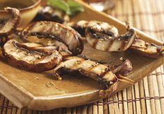 Portabella Satay with Sauce -- a perfect Mrs. Dash recipe - mrsdash.com #saltsubstitute #nosalt #vegetarian