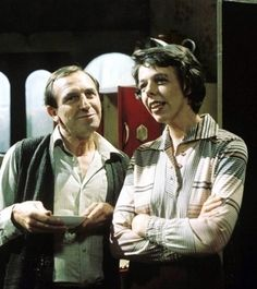 The owner of the worst lodgings ever: Rigsby (with Miss Jones). Rising Damp, a seventies classic.