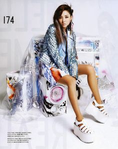 2NE1 - Nylon May 2014 | Beautiful Korean Artists