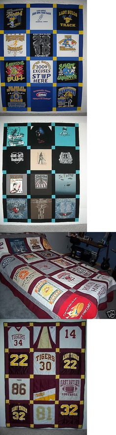 Quilts 116649: Custom Made T-Shirt Memory Quilt Using Your Shirts, I Help Save Your Memories -> BUY IT NOW ONLY: $99 on eBay!