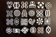 Check out this item in my Etsy shop https://www.etsy.com/listing/258719294/set-of-24-adinkra-symbol-stamps-hand