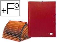Carpeta clasificadora carton Paper Coat Liderpapel Folio rojo  http://www.20milproductos.com/archivo/carpetas-subcarpetas-y-dossieres/carpeta-clasificadora-carton-paper-coat-liderpapel-folio-2.html