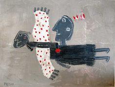 alexandra huber  Threads of a story: Art Brut, Outsider Art.