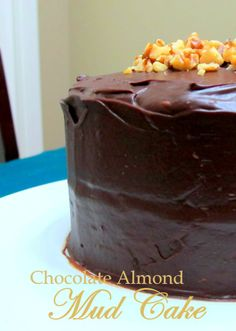 Chocolate Almond Mud Cake - FODMAPs, Fructose Friendly & Gluten Free | Not From A Packet Mix #FODMAP #fructosefriendly #glutenfree Spike this baby for St Patrick's Day! Just replace the almond extract in the cake batter with 2 tbsp. Irish whiskey and add 2 tbsp. Irish cream to the icing - this may mean it is no longer lactose free.