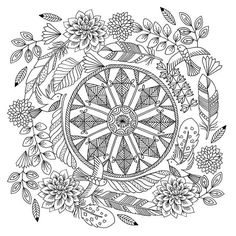 I'm going to be sharing a few images from my new colouring book over the next…