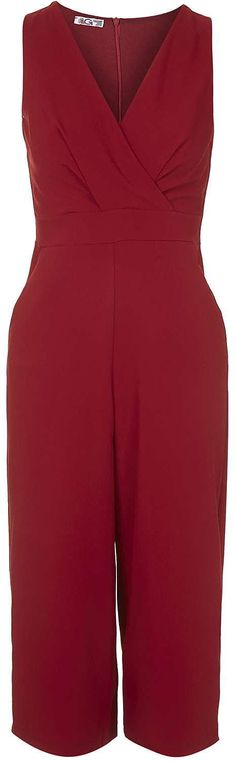 Womens carmine jumpsuit from Topshop - £37 at ClothingByColour.com