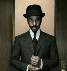 Andre Holland, The Knick, Character Portraits, Modern Outfits, Vintage Looks, Suit Jacket, Mens Fashion, Moonlight, Dragons