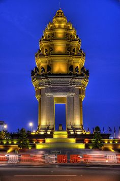 Independence Monument . Phnom Penh