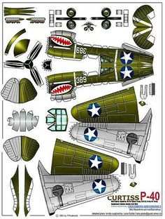 Playing and Crafting: Curtis Cardboard Airplane, Paper Airplane Models, Cardboard Model, Model Airplanes, Paper Planes, Paper Model Car, Wallpaper Crafts, 3d Templates, Free Paper Models