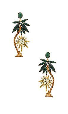 078a1c2400eb Palm Tree Earrings Árbol De Pendientes