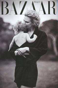 Nicole Kidman on Harper's Bazaar ... so pretty!