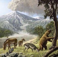Raúl Martín: Prehistoric mammals
