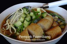 Resep Indonesia - Pempek Palembang