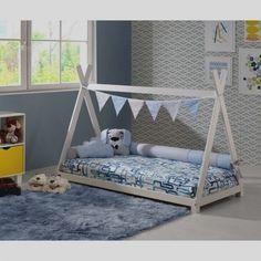 Baby Bedroom, Baby Room Decor, Kids Bedroom, Toddler Floor Bed, Toddler Rooms, Teepee Bed, Baby Room Colors, Dreams Beds, Baby Room Design