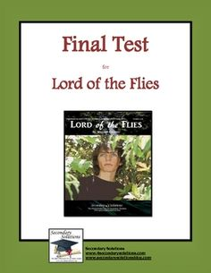 lord of the flies final There are rules in our society to prevent any conflicts between people and to live in safer world but, can rules actually conceal the natural instinct of human beings.