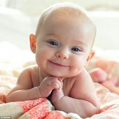 The new Gerber baby. So. Flipping. Cute!