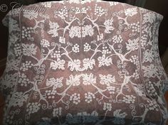 Fabulous Antique French Filet Lace Tablecloth ~ Circa 1900