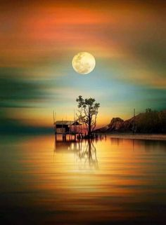 a good time for pray by iD's - Photo 231660057 / Moon Pictures, Nature Pictures, Beautiful Pictures, Landscape Photography, Nature Photography, Shoot The Moon, Beautiful Moon, Moon Art, Nature Wallpaper