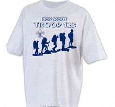 Hiking to the summit Shirt - Boy Scout™ Troop Design SP2459