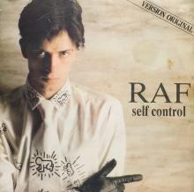 SELF CONTROL (PART 1) | R.A.F. | 7 inch single | music4collectors.com