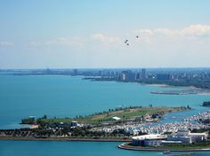 #CHICAGO Air & Water Show  Always great to watch from Columbia Yacht Club, HOLLY M