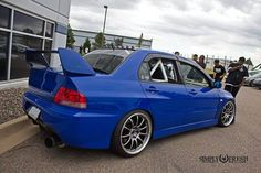 #Mitsubishi_Evo #Modified