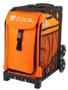 Zuca Sport Bag - CAUTION with Black Frame    https://figureskatingstore.com/zuca-bags/ #figureskating #figureskatingstore #figureskates #skating #skater #figureskater #zucabag #zuca #zucabags #zuca #backpack #zucabackpack #iceskatebag #skatebags #ice #skatingbag #zucastore #zucabackpacks #zucaskatebag