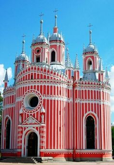 Church in St. Petersburg, Russia♥♥♥