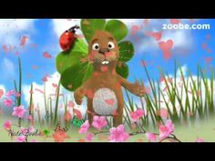 Frohe Ostern Hase packt viele süße leckerein ins Nest Das wird ein tolles Osterfest Viel Spaß - YouTube