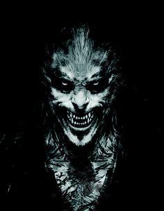 Pin for Later: Harry Potter's Original Concept Art Might Give You Nightmares Fenrir Greyback Source: Warner Bros. Horror Room, Horror Art, Dark Fantasy Art, Dark Art, Mermaid Wallpapers, Werewolf Art, Harry Potter Films, Demon Art, Character Art