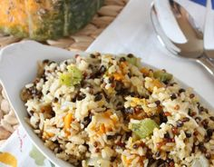 Quick & Easy Vegetarian Recipes - Thyme Roasted Vegetable and Wild Rice Pilaf - Click Pic for 21 Healthy Vegetarian Recipes