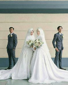 Tuxedo Wedding, Wedding Attire, Wedding Gowns, Wedding Tuxedos, Muslimah Wedding Dress, Hijab Bride, Luxury Wedding, Dream Wedding, Wedding Hijab Styles