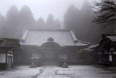 Paul Caponigro, Temple, Hiei-San, Kyoto, Japan, 1976