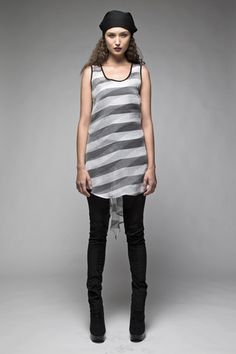 Taylor 'Follow the line' collection, Winter 2013 www.taylorboutique.co.nz Taylor Boutique - Trailed Shift - Stripe