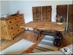 Loft bútor, industrial loft stílusú bútor, egyedi formaterv, antik faanyag - Antik bútor, egyedi natúr fa és loft designbútor, kerti fa termékek, akácfa oszlop, akác rönk, deszka, palló