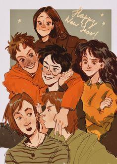 Harry James Potter, Fanart Harry Potter, Harry Potter Artwork, Harry Potter Drawings, Harry Potter Cast, Harry Potter Universal, Harry Potter World, Hogwarts, Character Art