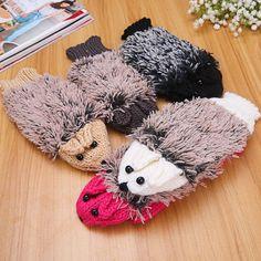 N321 ladies girls keep warm wholesale cute winter gloves /cheap knit winter…
