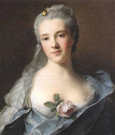 Manon Balletti 1757 by Jean Marc Nattier