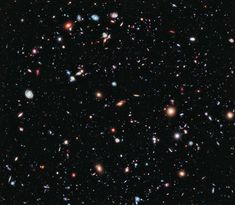 Hubble's Deep Field imagery is just mesmerising.