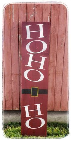 Rustic Wood WELCOME Sign for Porch | Rustic Welcome Sign | Santa Welcome Sign | Welcome porch Sign