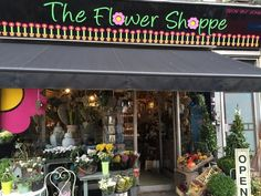 The Flower Shoppe offers a little of the French countryside  in Lee, in south London.