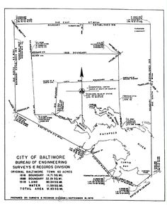Baltimore Archives: Resources for locating maps and understanding the mapping of Baltimore City