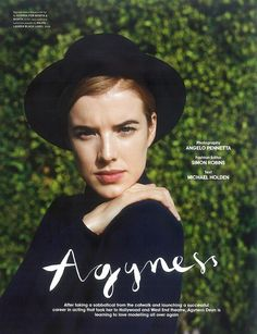 LOVE MAGAZINE: Agyness Deyn by Photographer Angelo Pennetta - Image Amplified: The Flash and Glam of All Things Pop Culture. From the Runway to the Red Carpet, High Fashion to Music, Movie Stars to Supermodels. Fashion Editor, Fashion Models, High Fashion, Women's Fashion, Dr. Martens, Agyness Deyn, Love Magazine, Ralph Lauren Black Label, Magazine Editorial